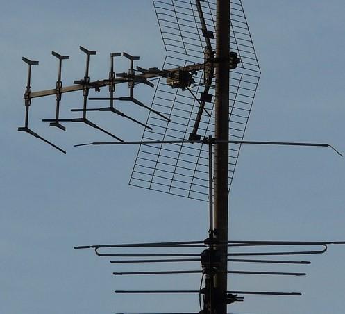 collegamento antenna tv a presa elettrica